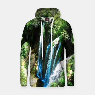 lower lake waterfall plitvice lakes national park croatia agfa Hoodie thumbnail image