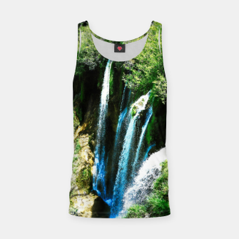 lower lake waterfall plitvice lakes national park croatia agfa Tank Top thumbnail image