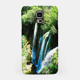 Thumbnail image of lower lake waterfall plitvice lakes national park croatia agfa Samsung Case, Live Heroes