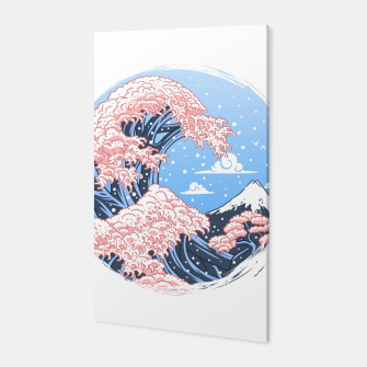 Thumbnail image of Wave Cherry Tree Canvas, Live Heroes