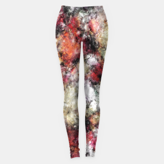Miniaturka Thermal fractures Leggings, Live Heroes