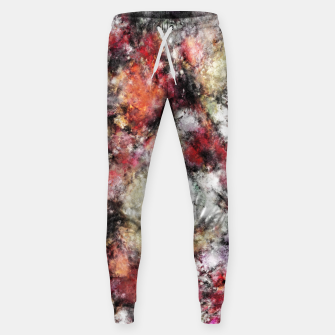 Miniaturka Thermal fractures Sweatpants, Live Heroes