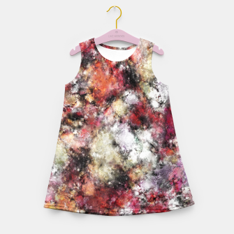 Miniaturka Thermal fractures Girl's summer dress, Live Heroes