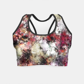 Miniaturka Thermal fractures Crop Top, Live Heroes