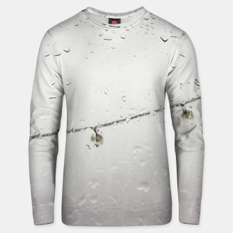 Thumbnail image of Rain drops... Unisex sweater, Live Heroes