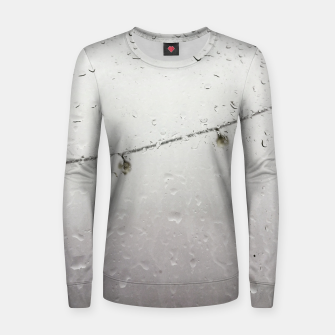 Thumbnail image of Rain drops... Women sweater, Live Heroes