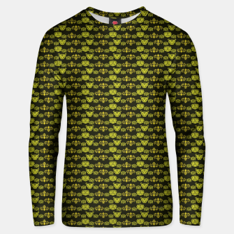 Thumbnail image of Yellow Dragon Doodles Unisex sweater, Live Heroes