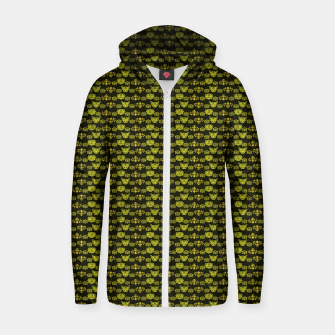Thumbnail image of Yellow Dragon Doodles Zip up hoodie, Live Heroes