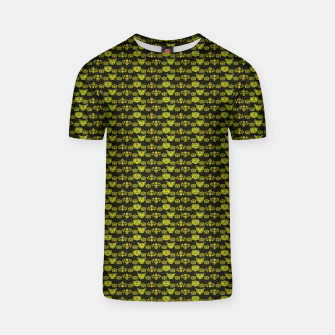 Thumbnail image of Yellow Dragon Doodles T-shirt, Live Heroes