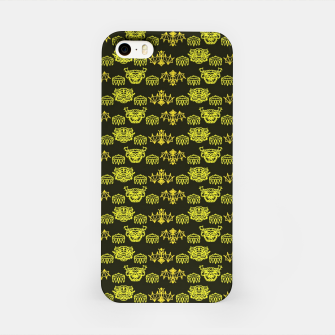 Thumbnail image of Yellow Dragon Doodles iPhone Case, Live Heroes