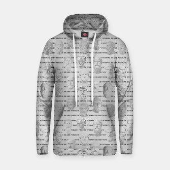 Thumbnail image of Wisdom Beard Wisdom - light grey Hoodie, Live Heroes