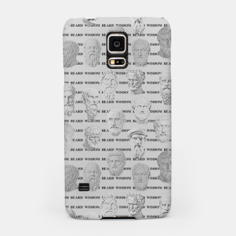 Thumbnail image of Wisdom Beard Wisdom - light grey Samsung Case, Live Heroes