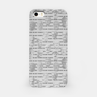 Thumbnail image of Wisdom Beard Wisdom - light grey iPhone Case, Live Heroes