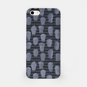 Thumbnail image of Wisdom Beard Wisdom - steel blue iPhone Case, Live Heroes