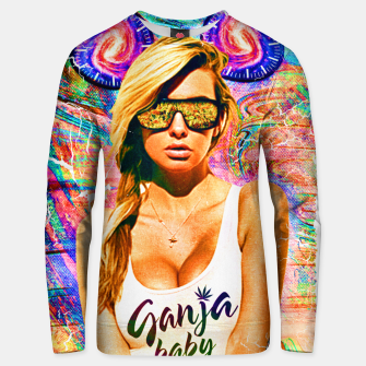 Thumbnail image of party babe Unisex sweater, Live Heroes