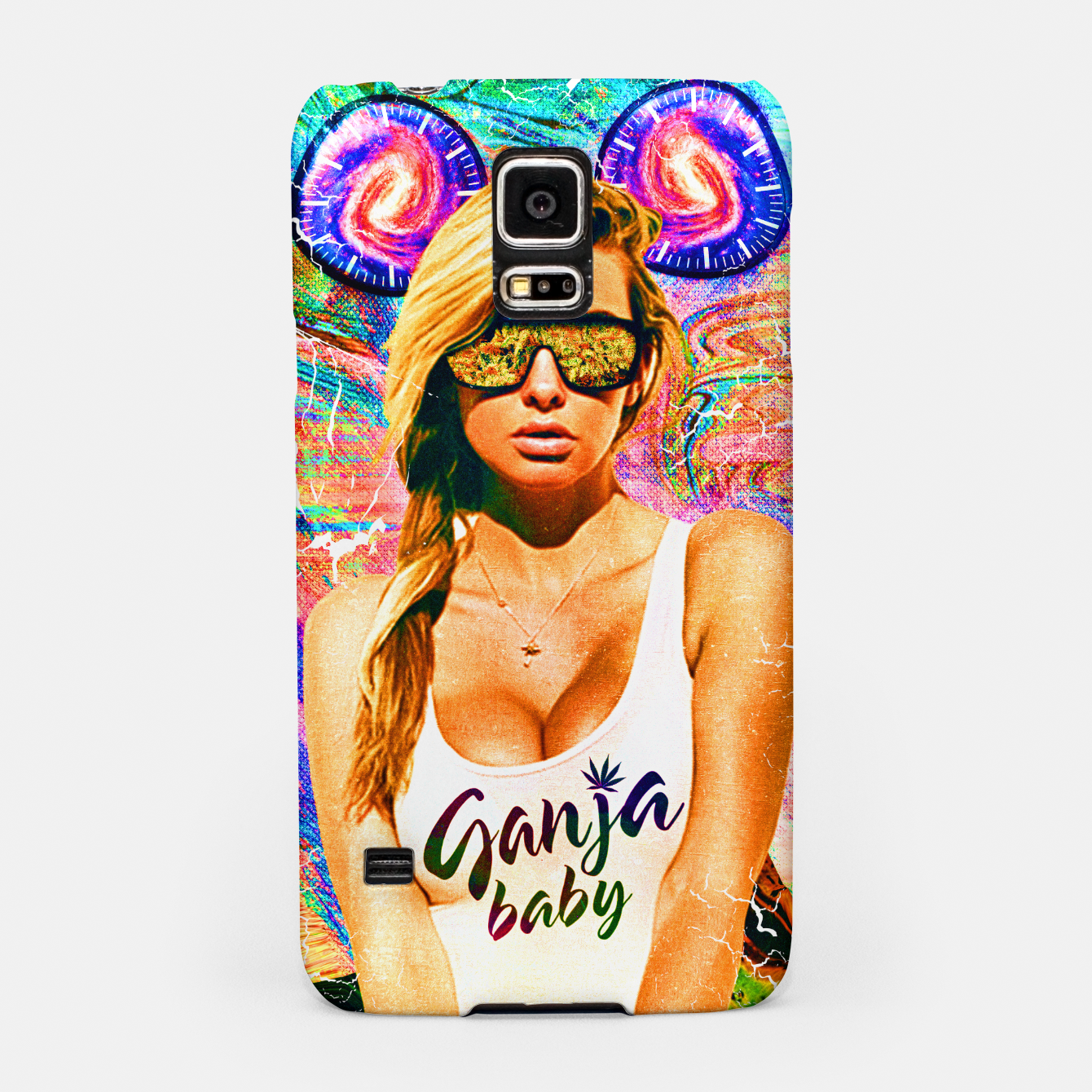 Image of party babe Samsung Case - Live Heroes