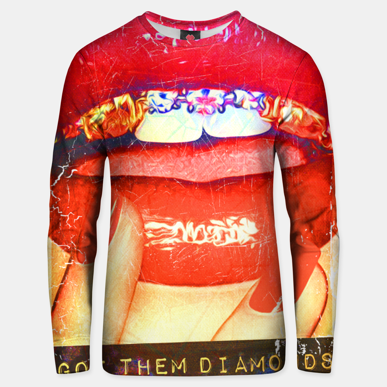 Image of DIAMONDS IN MY MOUTH Unisex sweater - Live Heroes