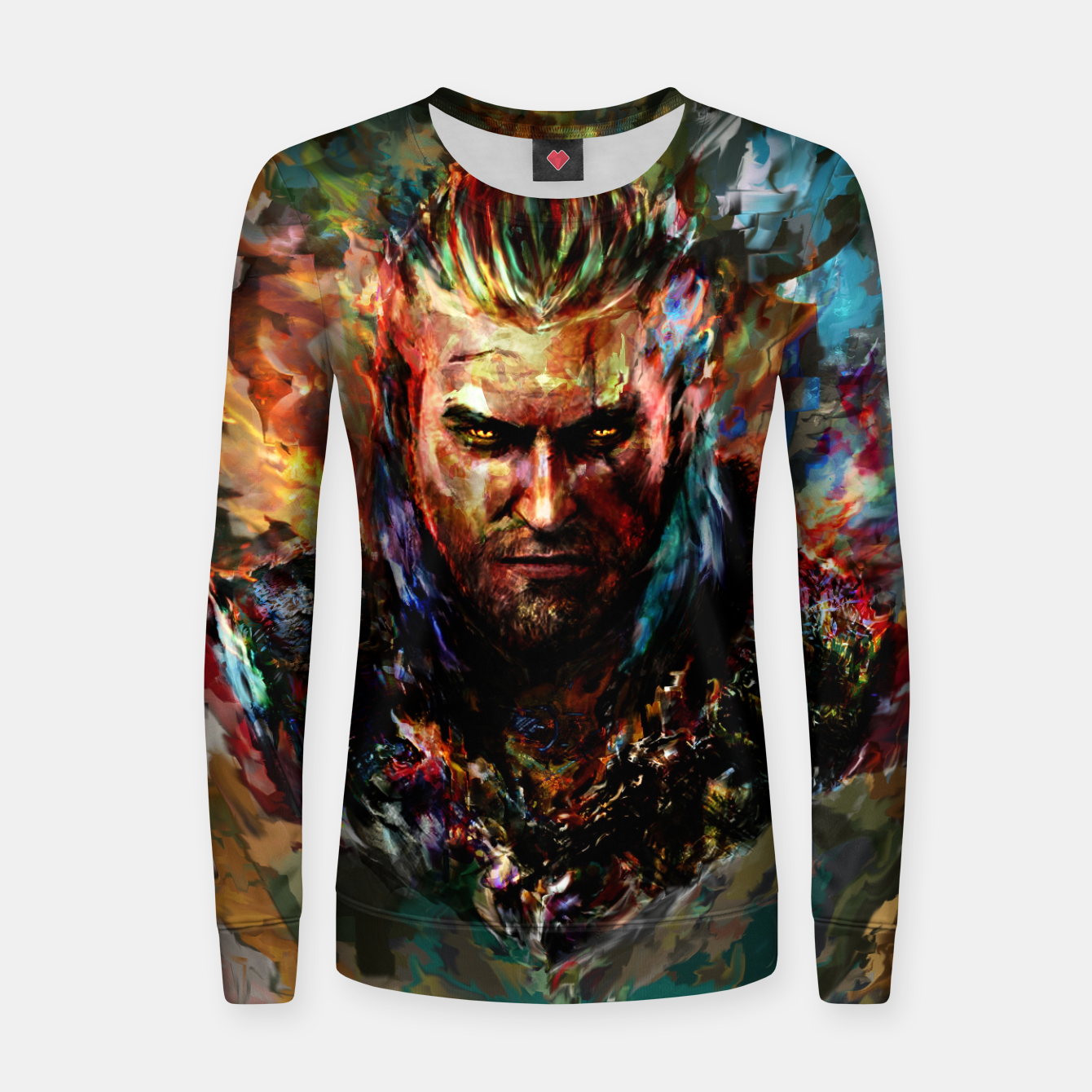 Image of witcher Women sweater - Live Heroes