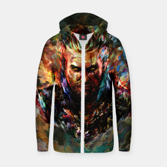witcher Zip up hoodie miniature