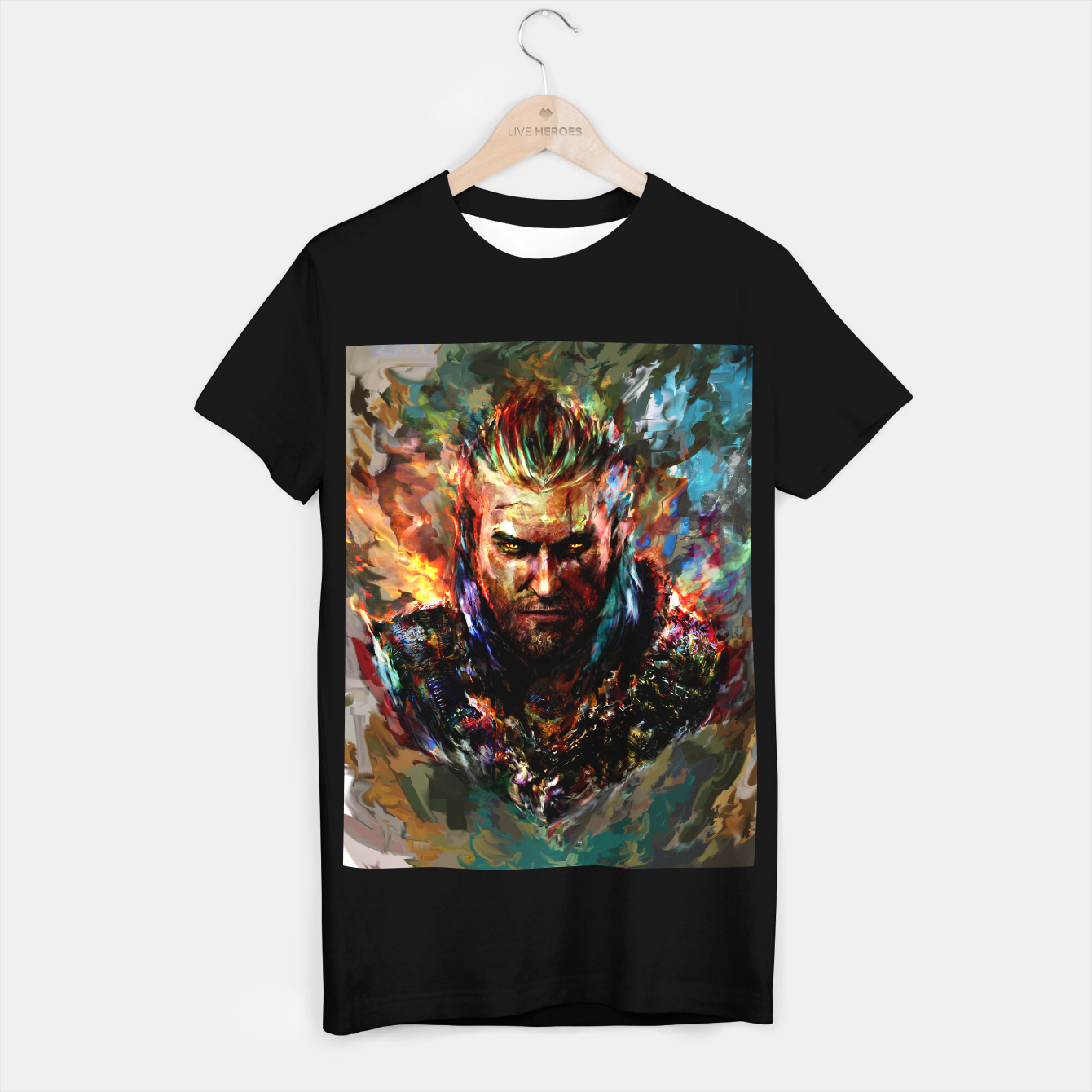 Image of witcher T-shirt regular - Live Heroes