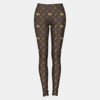Louis Goldfish South London Gangsta Bling Leggings Bild der Miniatur