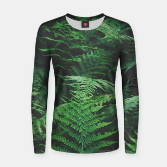 Thumbnail image of Fern Women sweater, Live Heroes