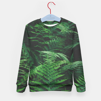 Miniatur Fern Kid's sweater, Live Heroes