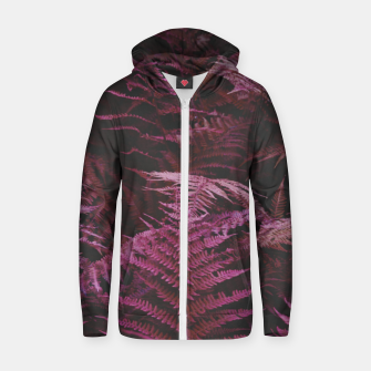 Thumbnail image of Fern 2 Zip up hoodie, Live Heroes