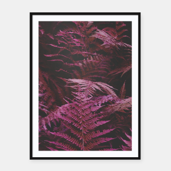 Thumbnail image of Fern 2 Framed poster, Live Heroes