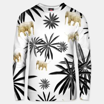 Thumbnail image of Palm Tree Elephant Jungle Pattern #1 (Kids Collection) #decor #art  Unisex sweatshirt, Live Heroes
