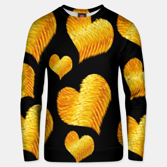 Thumbnail image of Curline hearts-Black  Sudadera unisex, Live Heroes