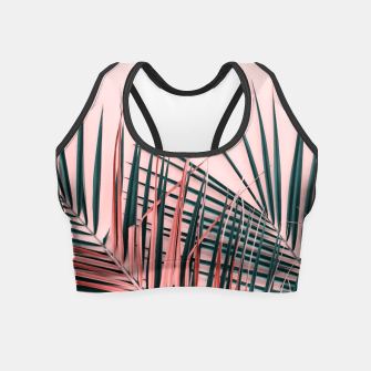 Thumbnail image of Paradise leaf Crop Top, Live Heroes