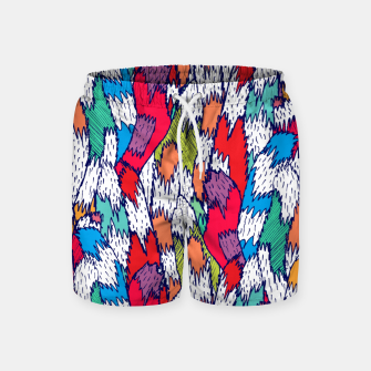Thumbnail image of Cat Tails Swim Shorts, Live Heroes