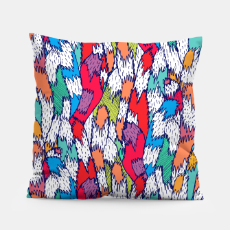 Miniatur Cat Tails Pillow, Live Heroes