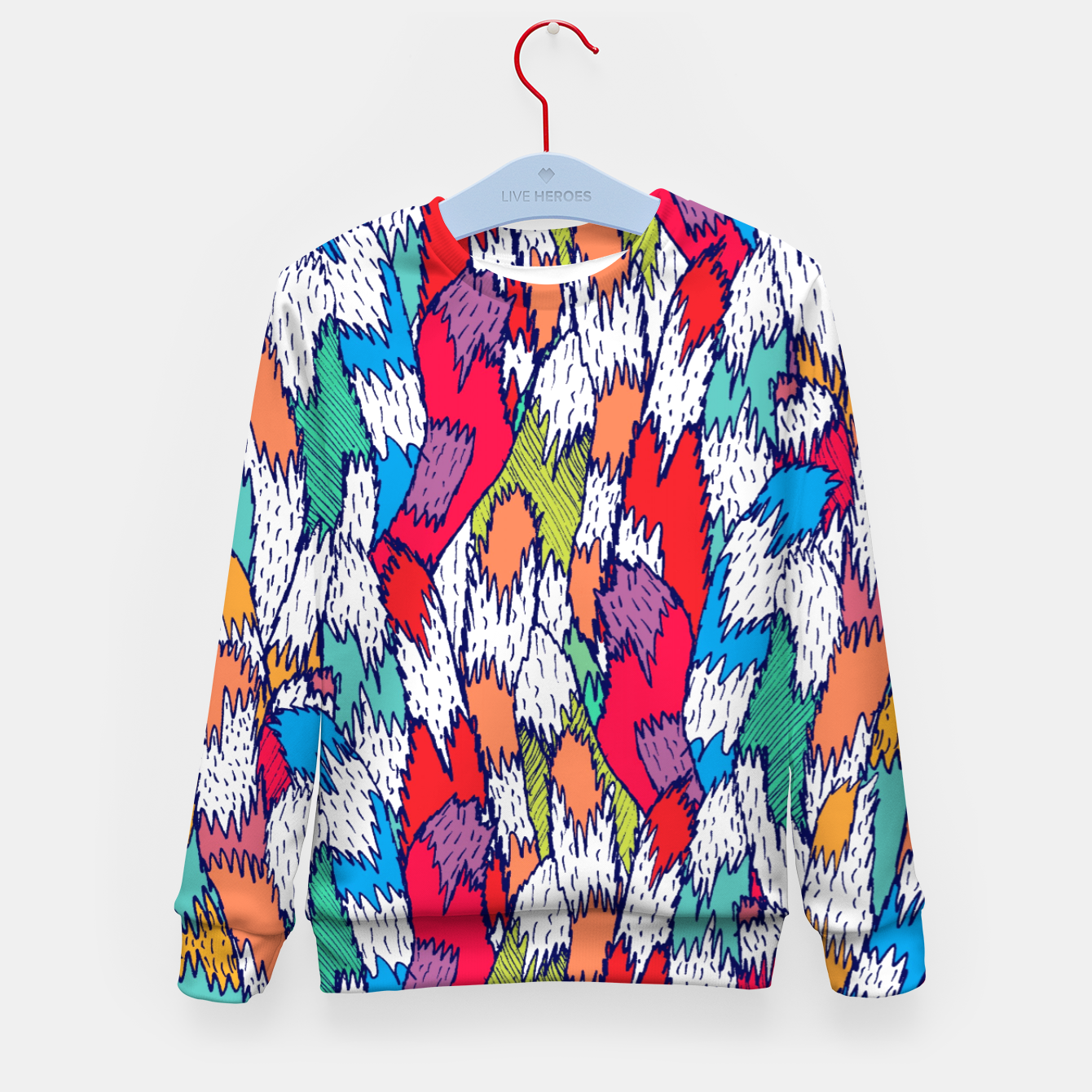 Image of Cat Tails Kid's sweater - Live Heroes