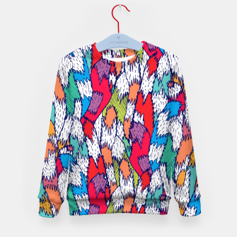 Miniatur Cat Tails Kid's sweater, Live Heroes