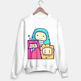 Miniature de image de Little monsters Sweater regular, Live Heroes