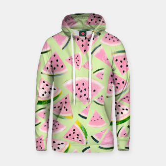 Miniaturka Watermelon Twist Vibes #1 #tropical #fruit #decor #art  Kapuzenpullover, Live Heroes