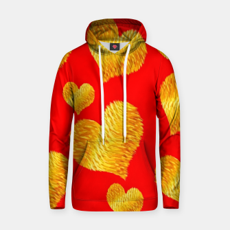 Thumbnail image of Curline hearts-Red Sudadera con capucha, Live Heroes