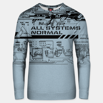 Thumbnail image of All Sytems Redy Unisex sweatshirt, Live Heroes