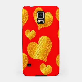 Thumbnail image of Curline hearts-Red Carcasa por Samsung, Live Heroes