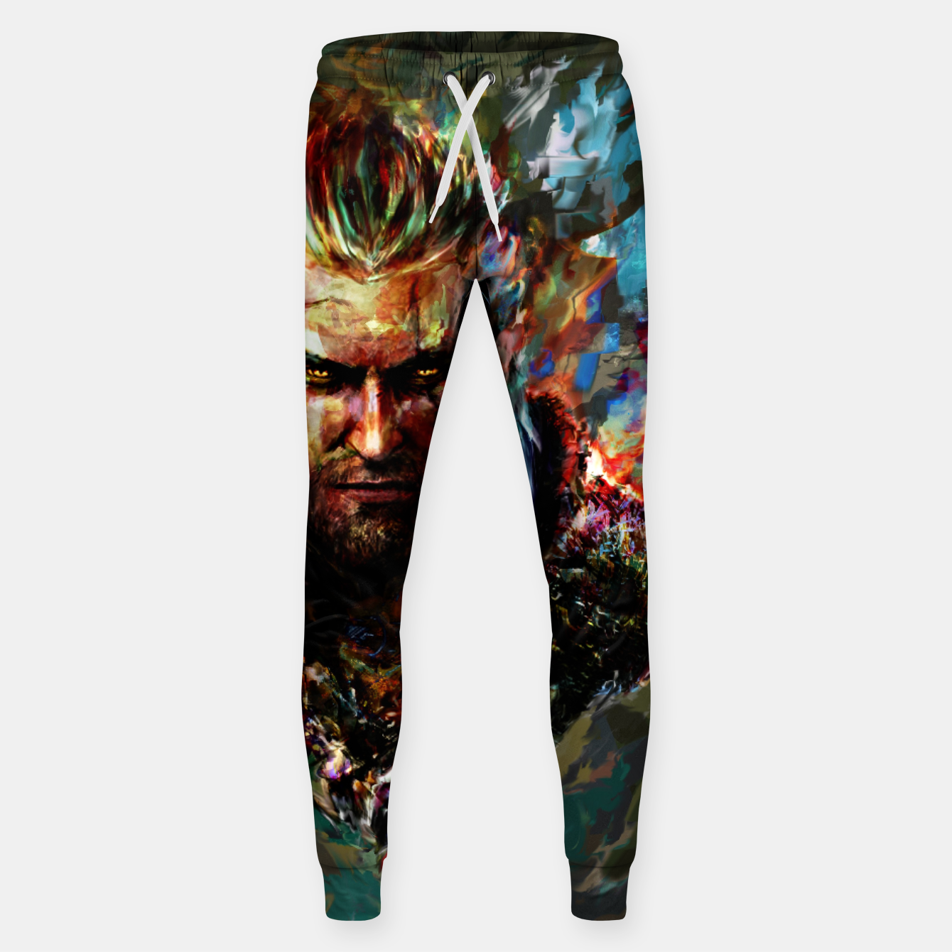 Image of witcher Sweatpants - Live Heroes