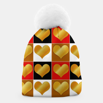 Thumbnail image of Golden hearts-Collage Gorro, Live Heroes