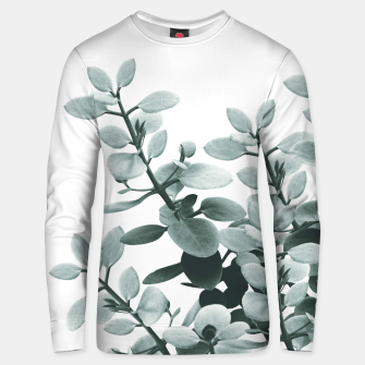 Thumbnail image of Eucalyptus Leaves Green Vibes #1 #foliage #decor #art  Unisex sweatshirt, Live Heroes