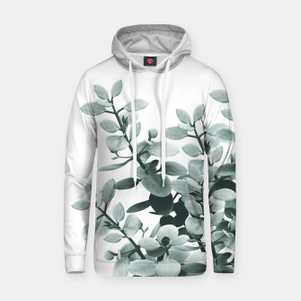 Thumbnail image of Eucalyptus Leaves Green Vibes #1 #foliage #decor #art  Kapuzenpullover, Live Heroes
