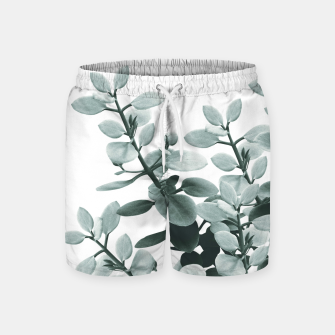 Thumbnail image of Eucalyptus Leaves Green Vibes #1 #foliage #decor #art  Badeshorts, Live Heroes