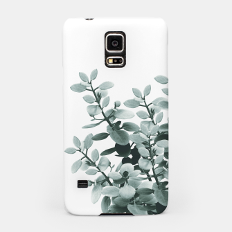 Thumbnail image of Eucalyptus Leaves Green Vibes #1 #foliage #decor #art  Handyhülle für Samsung, Live Heroes