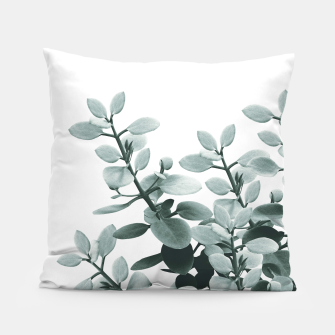 Thumbnail image of Eucalyptus Leaves Green Vibes #1 #foliage #decor #art  Kissen, Live Heroes