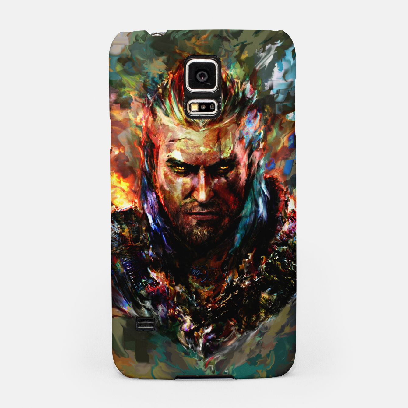 Image of witcher Samsung Case - Live Heroes