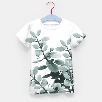 Thumbnail image of Eucalyptus Leaves Green Vibes #1 #foliage #decor #art  T-Shirt für kinder, Live Heroes
